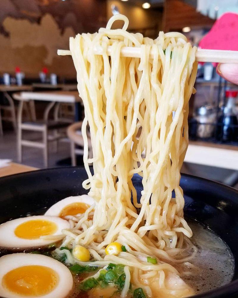 Food from Michi Ramen