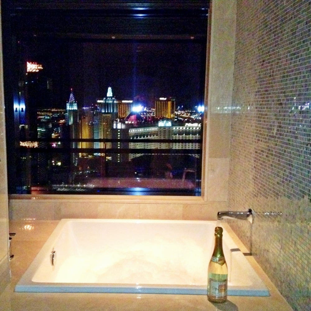 In room japanese soaking tub the view yelp for Terrace 1 bedroom cosmopolitan