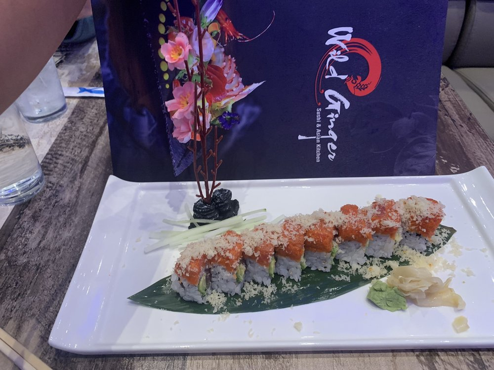 Food from Wild Ginger