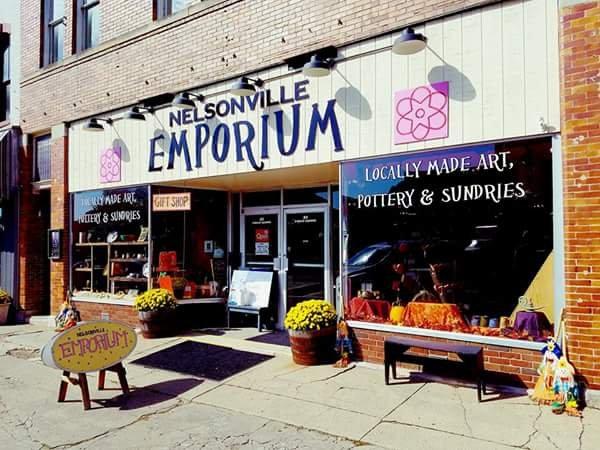 Nelsonville Emporium: 31 Public Sq, Nelsonville, OH