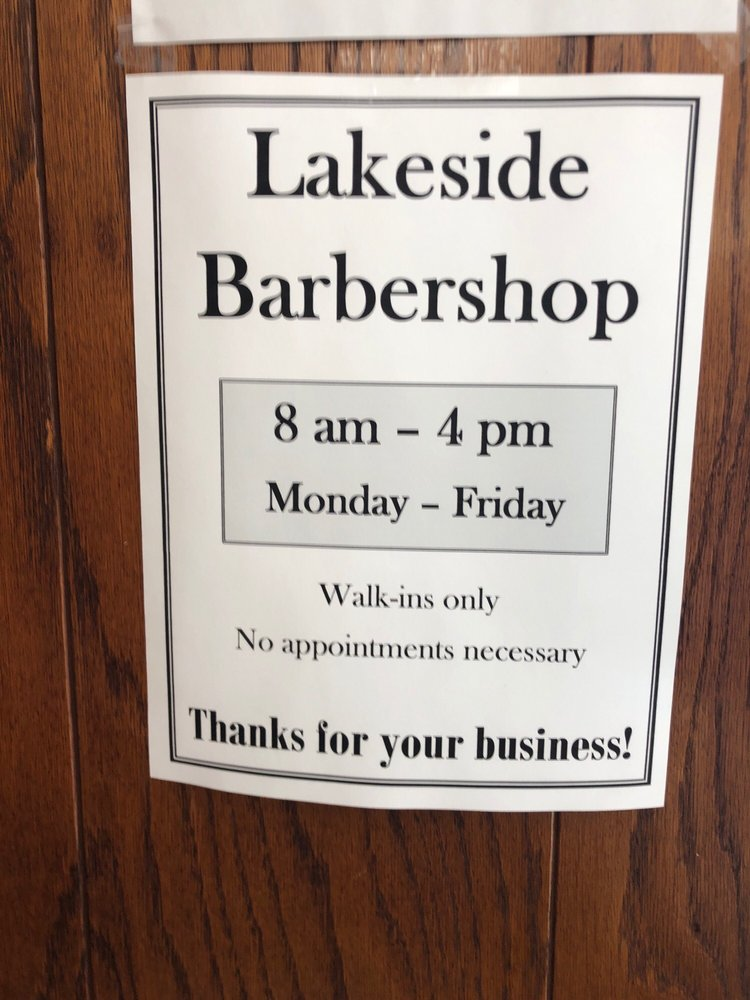 Lakeside Barber: 4513 E Superior St, Duluth, MN