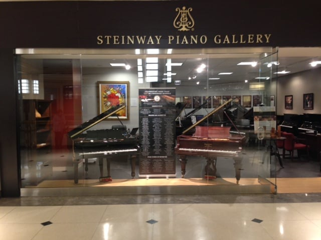 steinway piano gallery musical instruments teachers 900 n michigan shops near north side. Black Bedroom Furniture Sets. Home Design Ideas