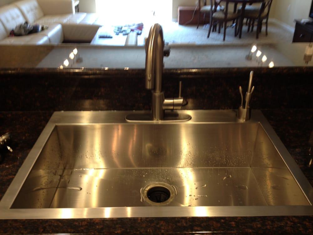 New Kitchen Sink Install Yelp