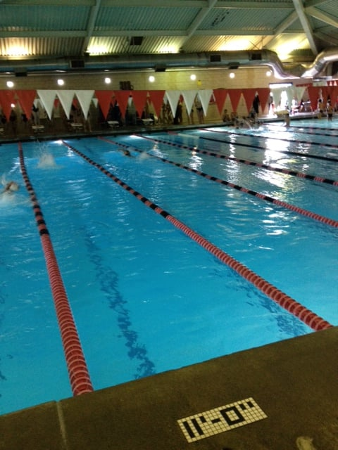 Indoor pool at cleveland hs yelp for Cleveland high school swimming pool