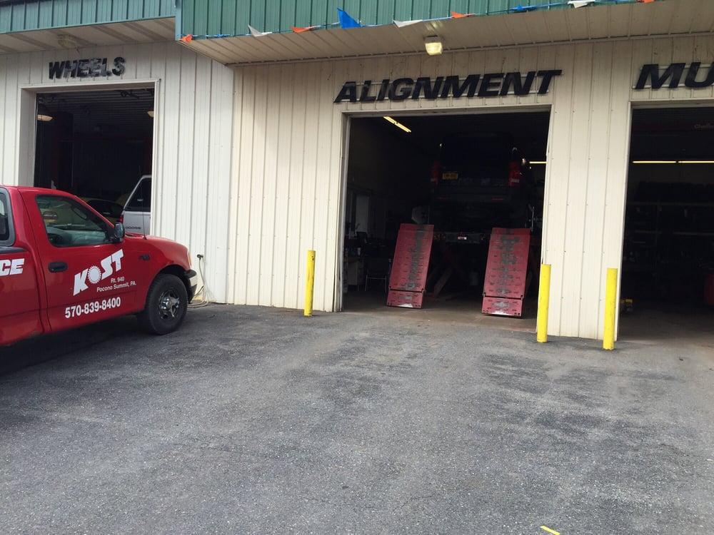 Kost Tire and Auto Service: RR 940, Pocono Summit, PA