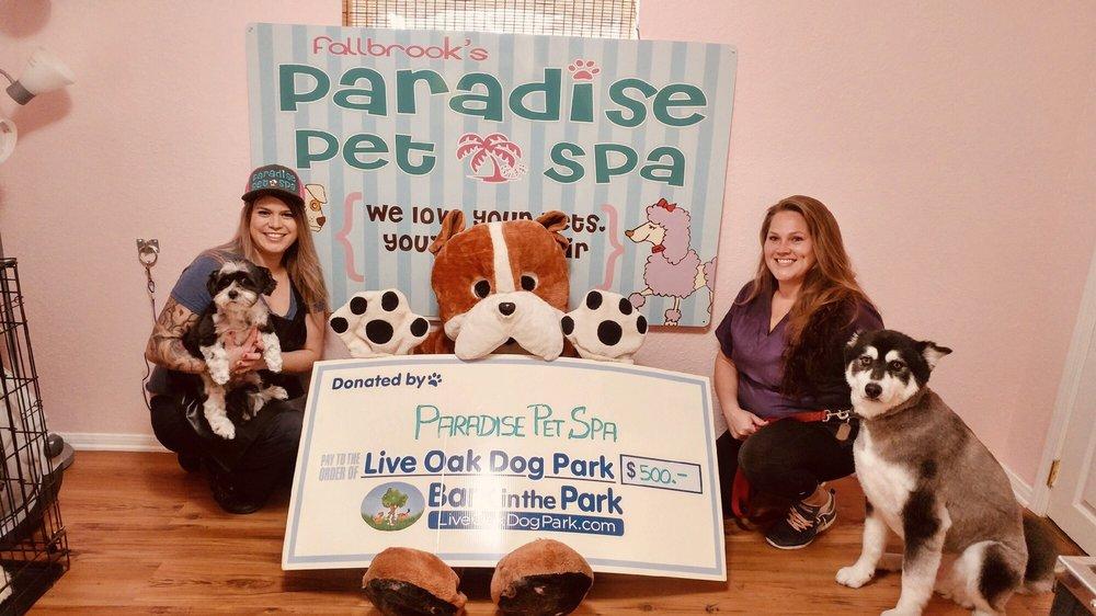 Fallbrook's Paradise Pet Spa