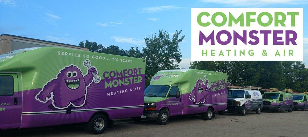 Comfort Monster Heating & Air: 4509 Creedmoor Rd, Raleigh, NC