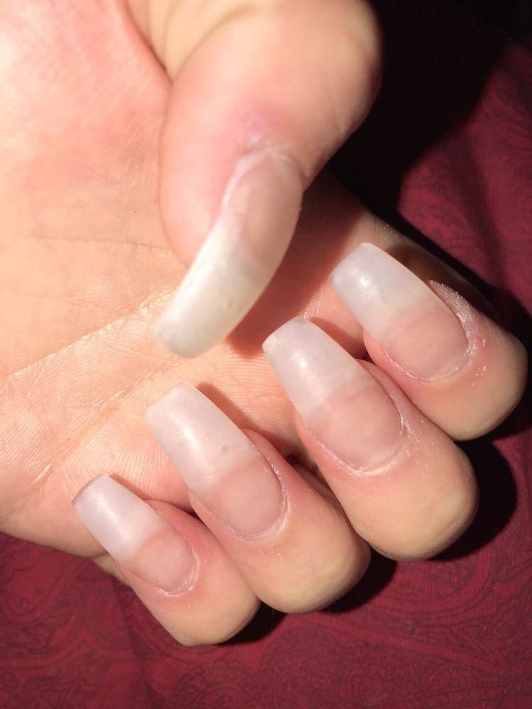 SO SOOO UGLY, THICK AND MESSY, THEY DAMAGED MY CUTICLES !!! They ...