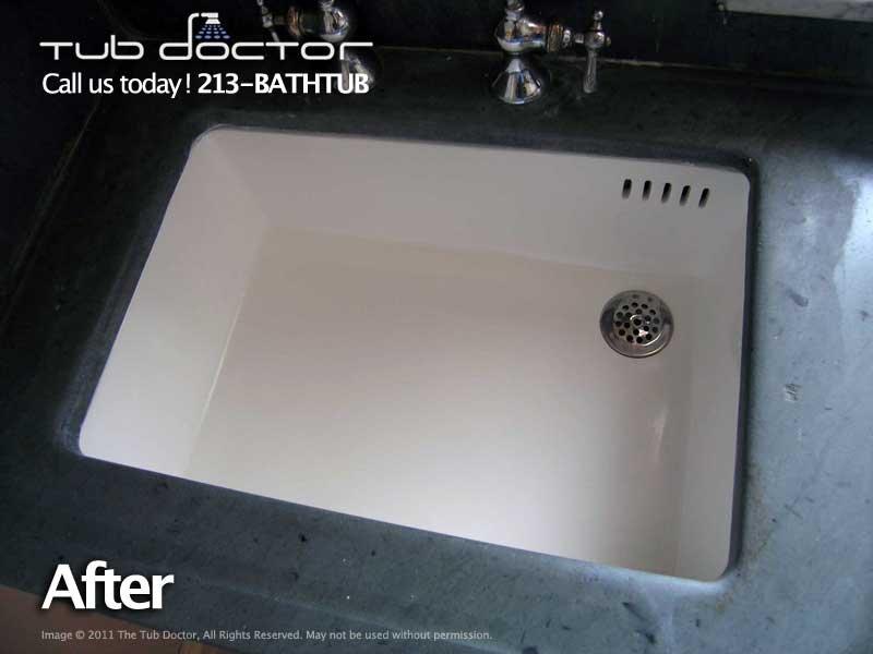Photo Of Tub Doctor   Burbank, CA, United States. Amazing! Kitchen Sink