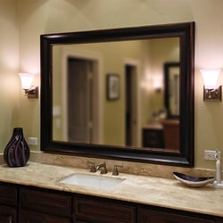 Bathroom Mirrors San Antonio texas custom mirrors - glass & mirrors - 5563 de zavala rd, san