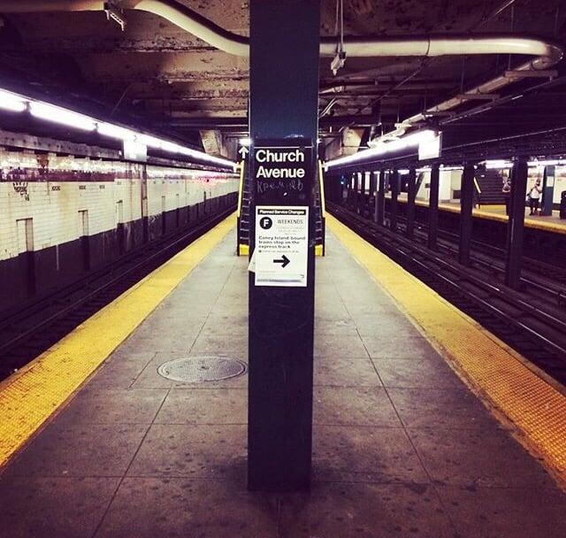 MTA - Church Ave. Subway Station: 446-470 Mcdonald Ave, Brooklyn, NY