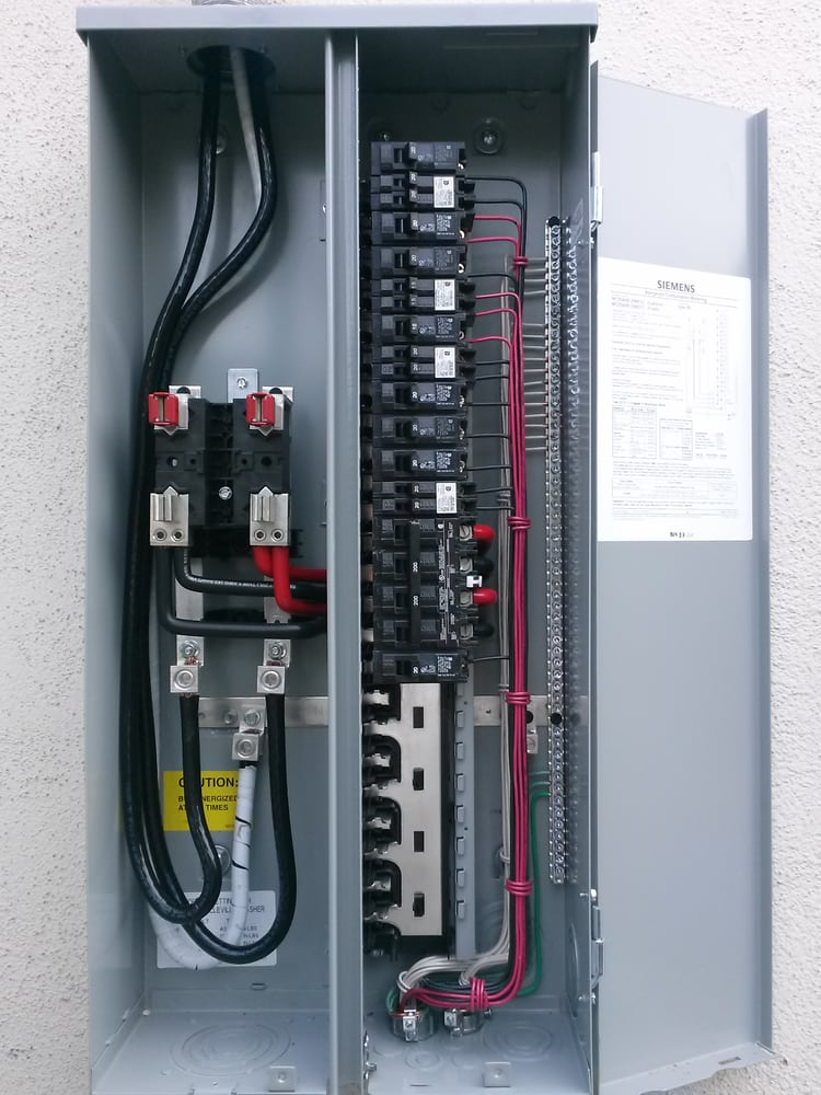 200 amp panel inside new 200 amp panel upgrade professionalism amp high 28633