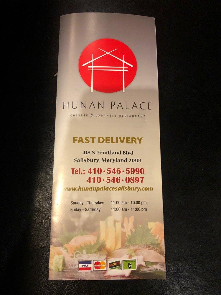 Hunan Palace: 418 N Fruitland Blvd, Salisbury, MD