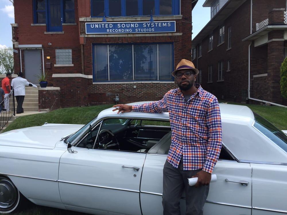 United Sound Systems Recording Studio: 5840 Second Ave, Detroit, MI