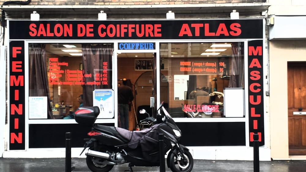 Atlas coiffeurs salons de coiffure 5 rue ars ne for Salon de coiffure montreuil