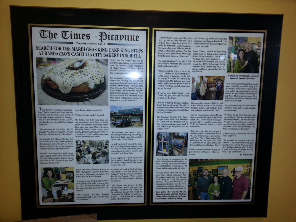 Accolades For Randazzo S In The Times Picayune Yelp
