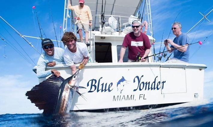 Double threat miami fishing charters fishing 3400 pan for Miami fishing trips