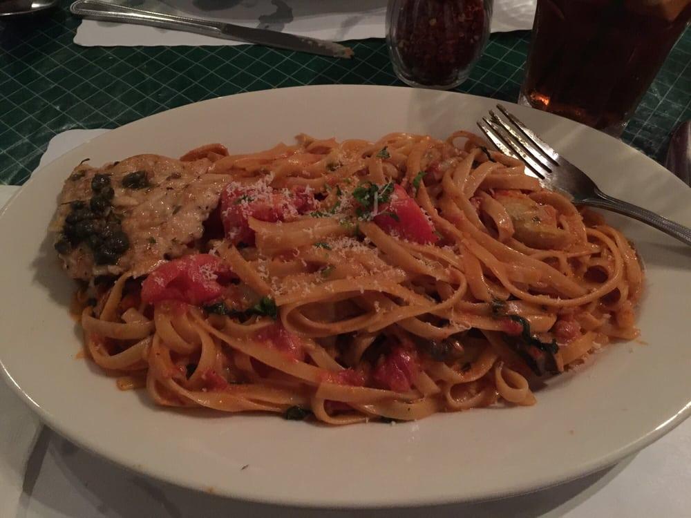 Roman pink sauce yelp for Mammas italian kitchen