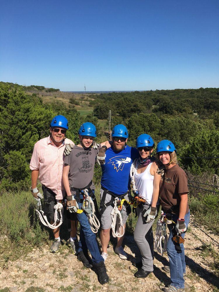 Air Donkey Zipline Adventures: 2160 Dolese Rd, Davis, OK