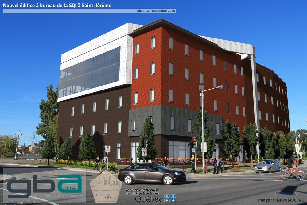 Gba architects 440 boulevard albiny paquette mont laurier qc