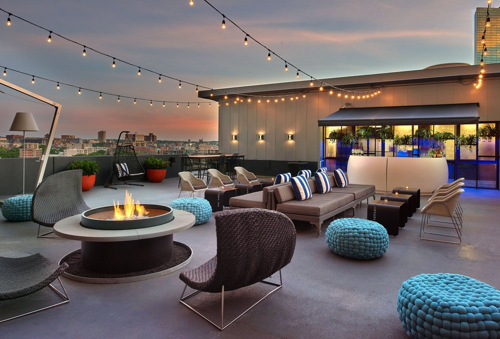 Rooftop at Revere: 200 Stuart St, Boston, MA