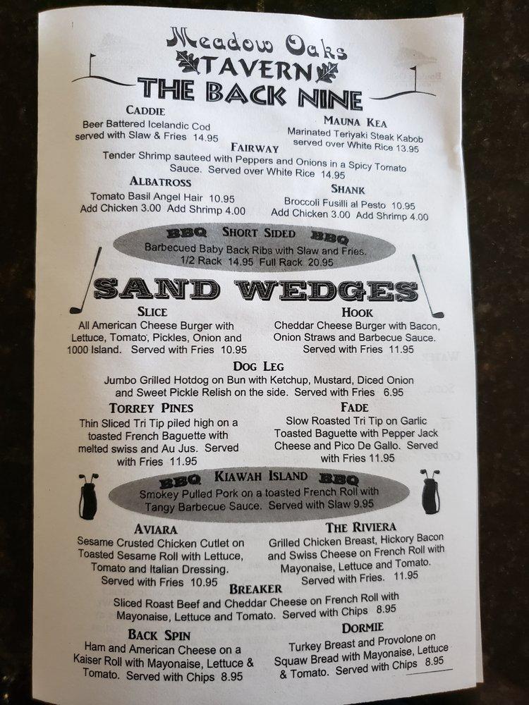 Meadow Oaks Tavern: 10333 Meadow Glen Way E, Escondido, CA