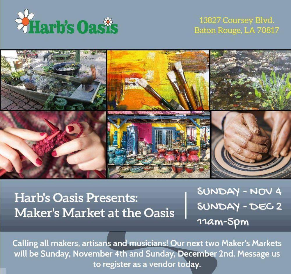 Harb's Oasis Garden Center: 13827 Coursey Blvd, Baton Rouge, LA