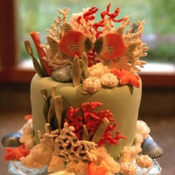 Photo Of Snazzycakes Portland Or United States My Aquarium Cake Topper