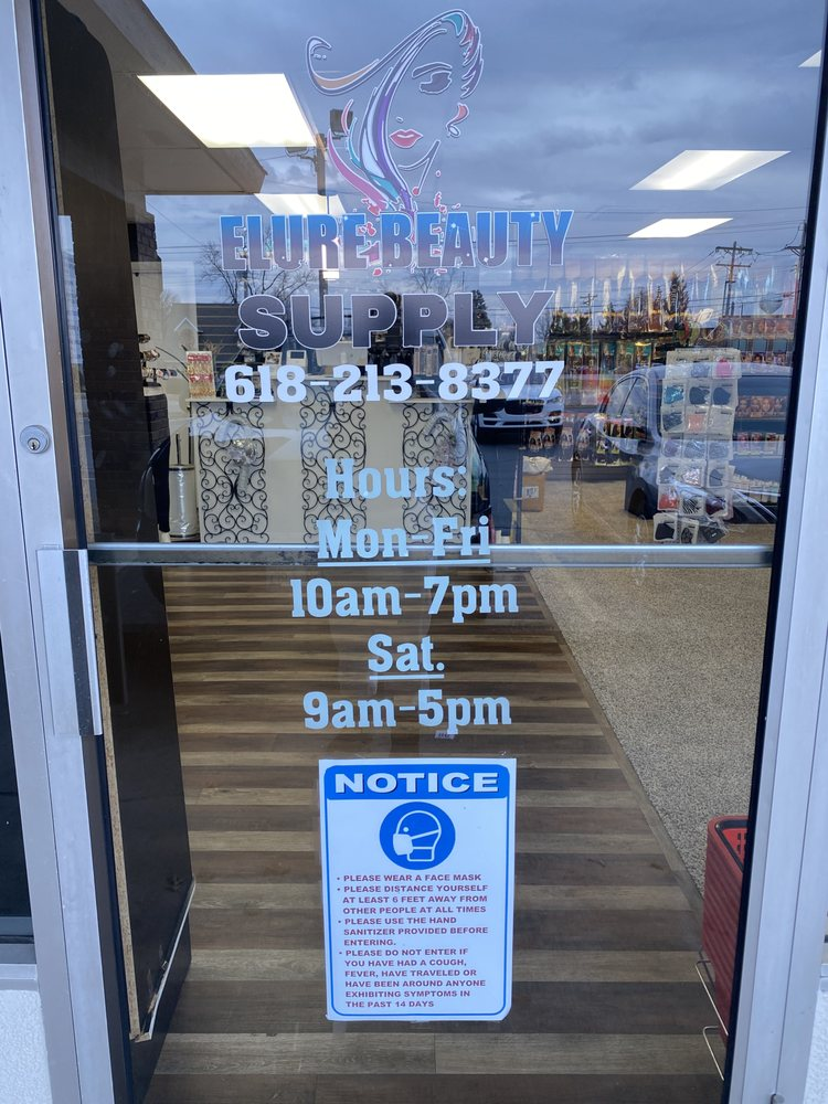 Elure Beauty Supply: 710 Lincoln Hwy, Fairview Heights, IL