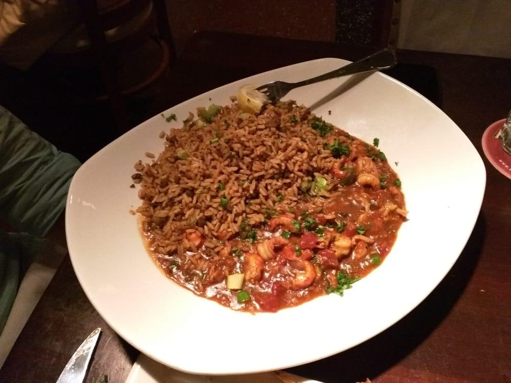 Crawfish Etouffee With Dirty Rice