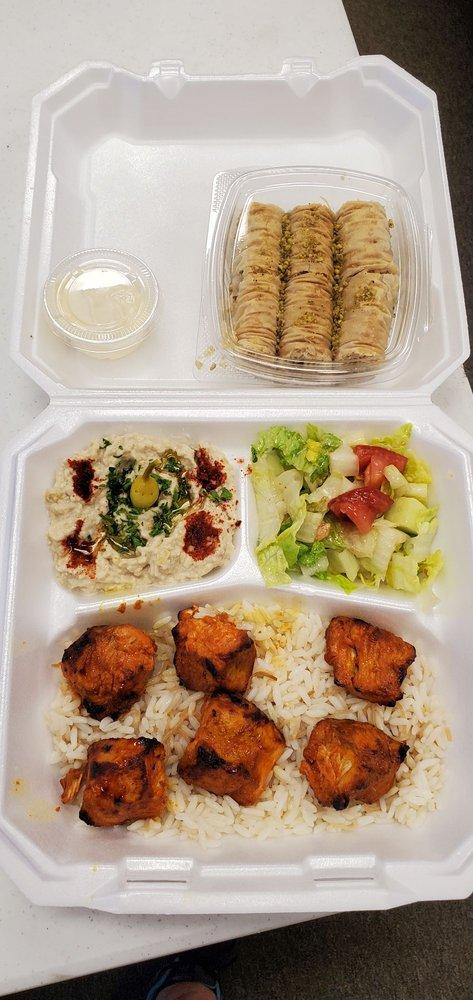 JF Mediterranean cuisine: 105 W Arrow Hwy, San Dimas, CA