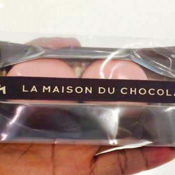 La maison du chocolat chocolate chocolatiers for Macarons la maison du chocolat