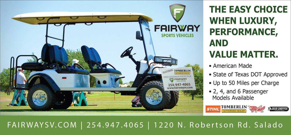 Fairway Sports Vehicles: 1220 N Robertson Rd, Salado, TX