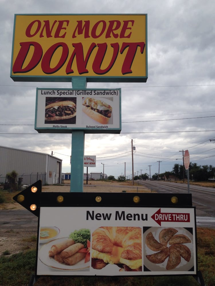 One More Donut: 146 S Bell St, San Angelo, TX