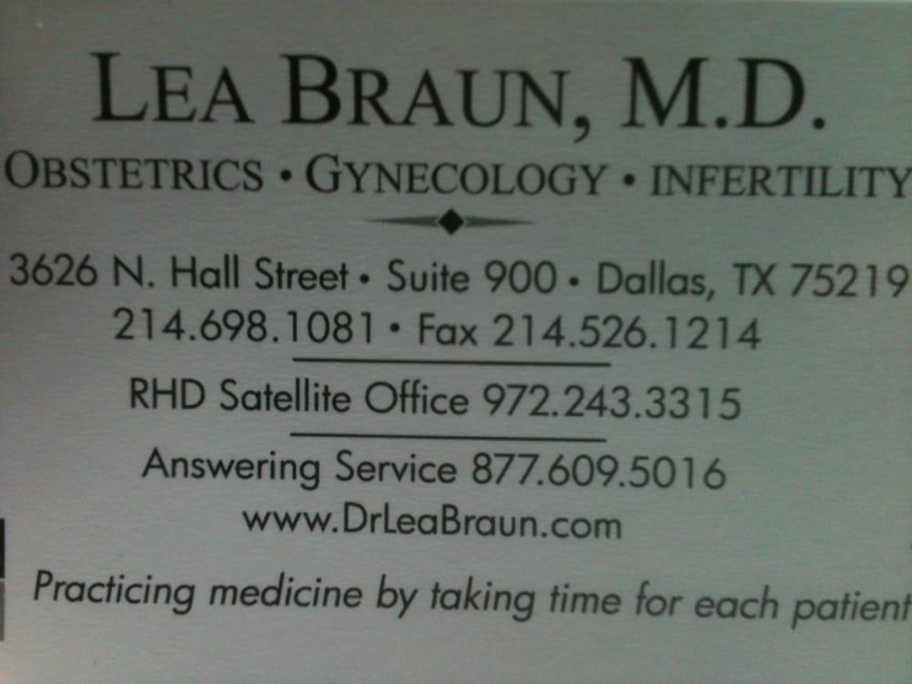 Braun Lea,  MD: 9 Medical Pkwy, Dallas, TX