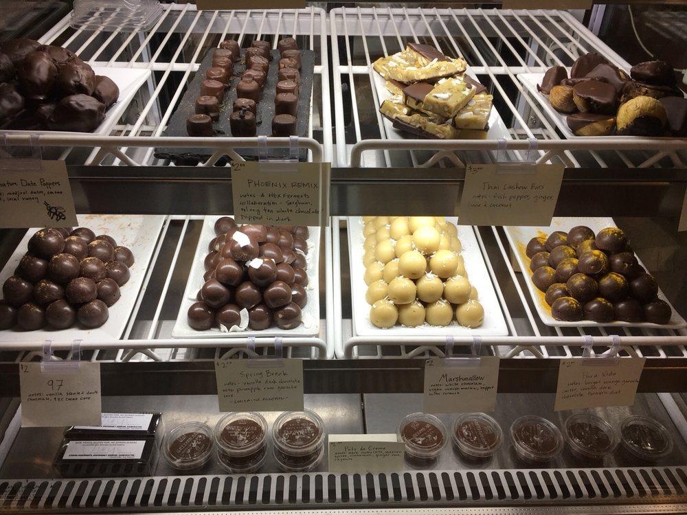 Pure Chocolate By Jinji: 518 E Belvedere Ave, Baltimore, MD