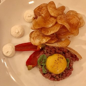 photo of taylors kitchen sacramento ca united states beef tartare with chips - Taylors Kitchen