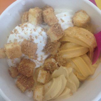 Carrot cake frozen yogurt recipe