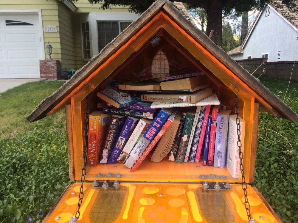 Little Free Library: 31331 Quail Valley Rd, Castaic, CA