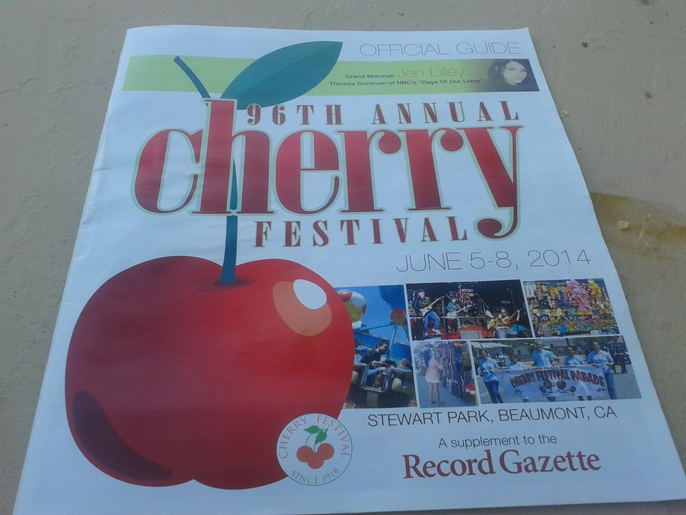 Beaumont (CA) United States  city photos gallery : Beaumont Cherry Festival Beaumont, CA, United States. mmmm