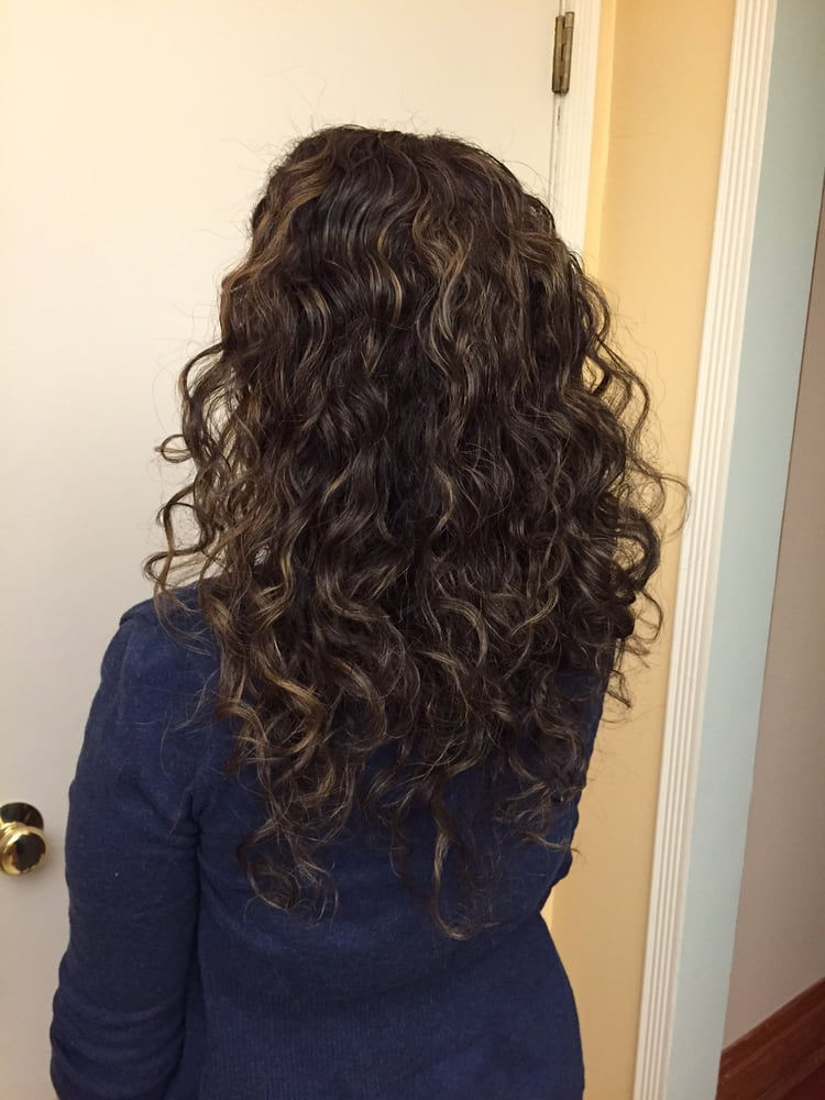 A Few Subtle Highlights For My Naturally Curly Hair Courtesy Of