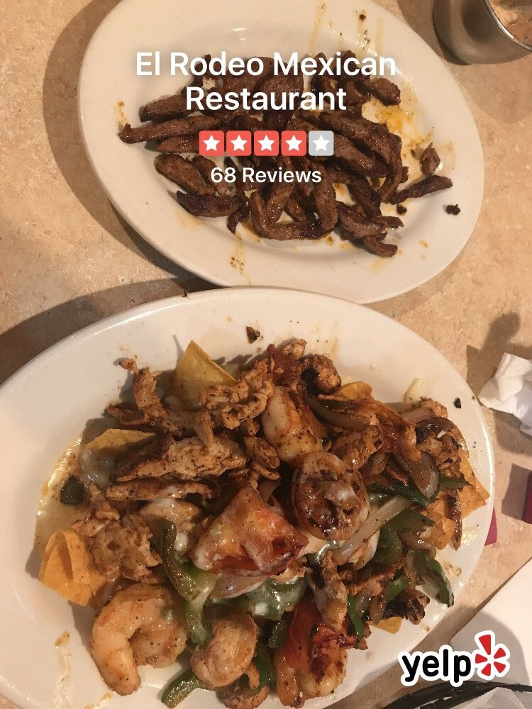 El Rodeo Mexican Restaurant: 5834 E Virginia Beach Blvd, Norfolk, VA