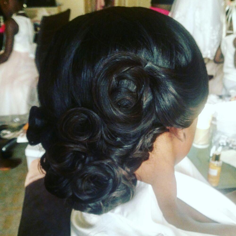 Weave Wedding Hairstyles: Updo...full Sew In Weave/wedding Hair
