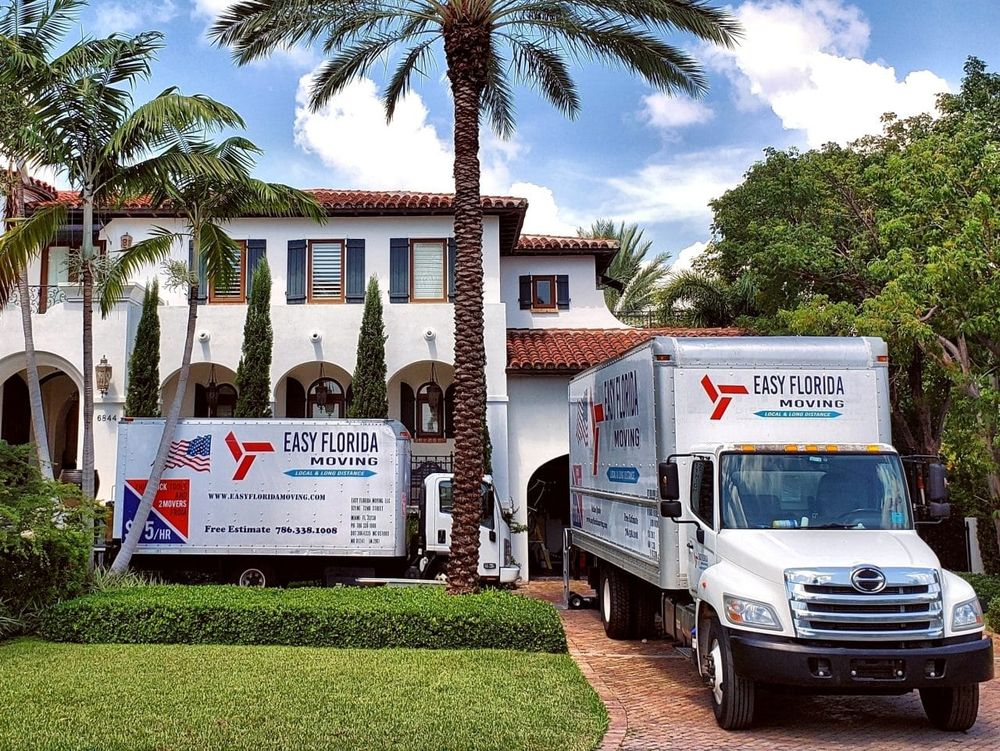 Easy Florida Moving: 319 NW 10th Terrace, Hallandale Beach, FL