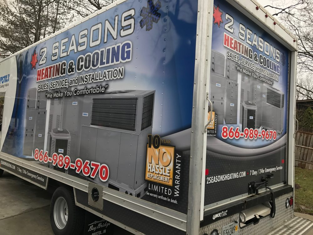 2 Seasons Heating & Cooling: 104 N Main St, Walworth, WI