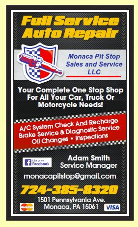 Monaca Pit Stop Sales and Service