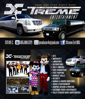 Xtreme Entertainment - Request a Quote - Party & Event