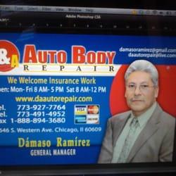 D & A Auto Repair - Auto Repair - 4646 S Western Ave ...