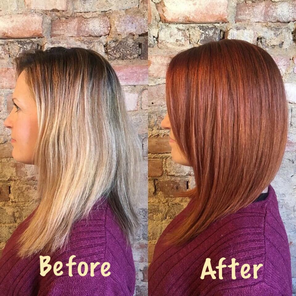 My Before And After Hair Color With Jess I Wanted A Pretty Color