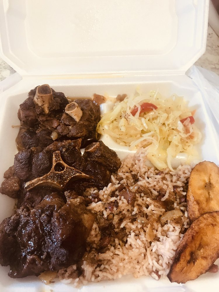 Food from Jamaican Jerk Shack